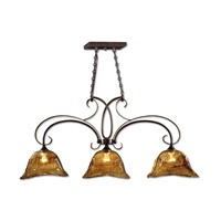 Vetraio 3 Light 47 inch Oil Rubbed Bronze Kitchen Island Light Ceiling Light