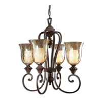 Uttermost Elba 4-Lt Chandelier in Spice 21050