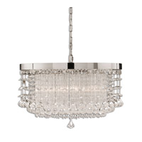 Fascination 3 Light 21 inch Chrome Chandelier Ceiling Light