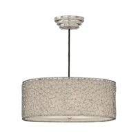 Uttermost Brandon Silver 3 Lt Hanging Shade in Nickel Plated 21154