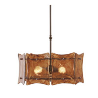 Uttermost Vetraio II 3 Lt Hanging Shade in Oil Rubbed Bronze 21210