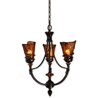 Uttermost Vitalia 3 Lt Chandelier in Oil Rubbed Bronze 21226