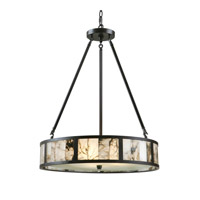 Uttermost Coslada 3 Light Pendant in Oil Rubbed Bronze 21236