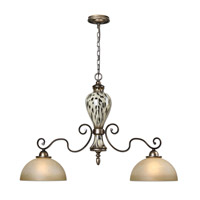 Uttermost Malawi Island Light in Burnished Cheetah Print 21248