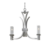 Uttermost Glacio Island Light in Brushed Nickel 21249