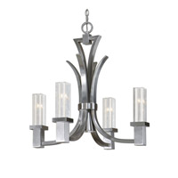 Uttermost Glacio Chandelier in Brushed Nickel 21250