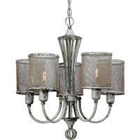 Uttermost Pontoise 5 Light Chandelier in Vintage 21259
