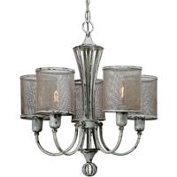 Uttermost 21259 Pontoise 5 Light 24 inch Vintage Chandelier Ceiling Light