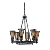 Frisco 6 Light 32 inch Chandelier Ceiling Light