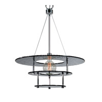 Gyrus 1 Light 25 inch Chrome Chandelier Ceiling Light