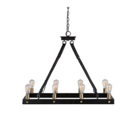 Marlow 8 Light 37 inch Dark Antique Bronze Chandelier Ceiling Light