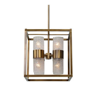 Marinot 8 Light 18 inch Antique Brass Pendant Ceiling Light