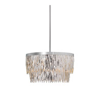Uttermost Millie 6 Light Pendant in Chrome 21283