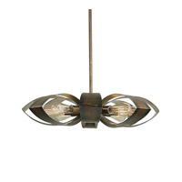 Daisy 8 Light 26 inch Warm Bronze Pendant Ceiling Light