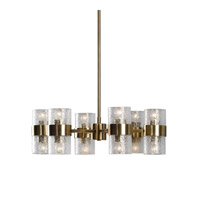 Marinot 12 Light 26 inch Antique Brass Chandelier Ceiling Light
