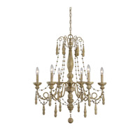 Marinot 6 Light 28 inch Sea Salt Chandelier Ceiling Light