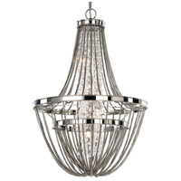 Couler 4 Light 37 inch Polished Nickel Chandelier Ceiling Light
