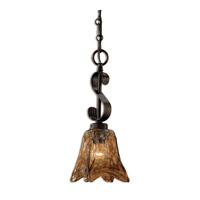 Uttermost 21801 Vetraio 1 Light 6 inch Oil Rubbed Bronze Mini Pendant Ceiling Light thumb