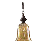 Uttermost Elba Mini Pendant in Spice 21812