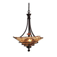 Uttermost Vitalia 3 Lt Pendant in Oil Rubbed Bronze 21904