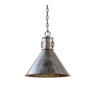 Uttermost Levone 1 Lt Pendant in Oxidized Bronze 21923