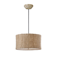Burleson 3 Light 22 inch Natural Twine Hanging Shade Ceiling Light