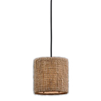 Uttermost Burleson 1 Lt Mini Hanging Shade in Natural Twine 21936