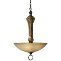 Uttermost Porano 3 Light Pendant in Oil Rubbed Bronze 21945