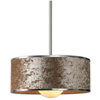 Uttermost Panache 1 Light Pendant in Brushed Nickel 21949 thumb