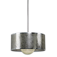 Uttermost Kenza 1 Light Pendant in Chrome Plated 21953
