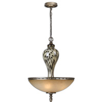 Uttermost Malawi Pendant in Burnished Cheetah Print 21967