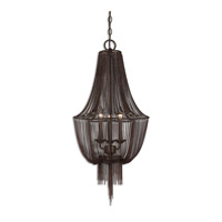Uttermost Lezzeno Chandelier in Oil Rubbed Bronze 21998