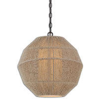 Uttermost Garzeno Pendant in Lightly Stained Rope 22000