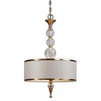 Uttermost Dueville 3 Light Pendant 22001