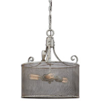 Uttermost 22004 Pontoise 3 Light 16 inch Pendant Ceiling Light