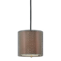 Uttermost Catalan 1 Light Mini Pendant in Nickel 22008