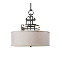 Uttermost Cupola 3 Light Drum Shade 22021