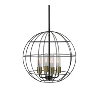 Palla 4 Light 18 inch Pendant Ceiling Light