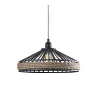 Uttermost Corda 1 Light Pendant in Rustic 22026