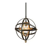 Rondure 1 Light 15 inch Dark Oil Rubbed Bronze Mini Pendant Ceiling Light