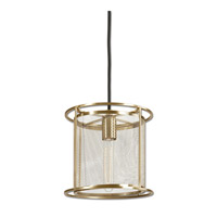 Uttermost Maille 1 Light Mini Pendant in Coffee Bronze 22041