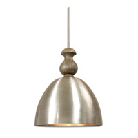 Uttermost Luna 3 Light Pendant in Aluminum 22042