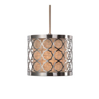 Harwich 1 Light 9 inch Brushed Nickel Mini Pendant Ceiling Light