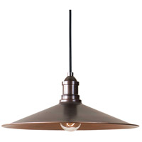 Uttermost 22051 Barnstead 1 Light 14 inch Light Copper Pendant Ceiling Light