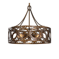 Antrim 4 Light 21 inch Light Bronze Pendant Ceiling Light
