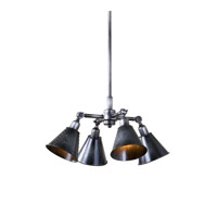 Fumant 4 Light 20 inch Smoky Pendant Ceiling Light