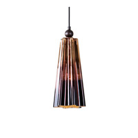 Uttermost Chocley 1 Light Mini Pendant in Rich Chocolate 22079