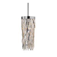 Millie 1 Light 7 inch Chrome Mini Pendant Ceiling Light
