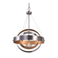 Anello 1 Light 22 inch Brushed Nickel Pendant Ceiling Light