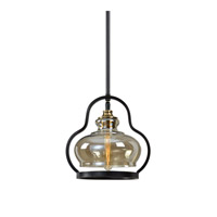 Cotulla 1 Light 12 inch Aged Black Mini Pendant Ceiling Light